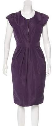 Prada A-Line Midi Dress