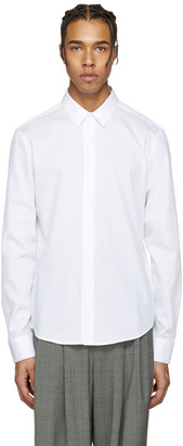 Wooyoungmi White Cotton Shirt $280 thestylecure.com