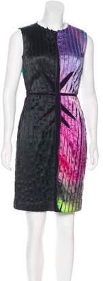 Vivienne Tam Silk Mini Dress