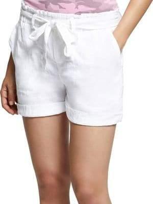 Sanctuary Muse Tie-Waist Linen Shorts