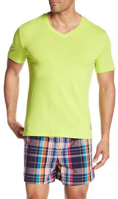 Psycho Bunny Lounge Brights V-Neck Tee