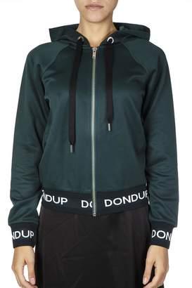 Dondup Green Cotton Sweatshirt