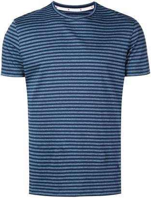 Isaia horizontal striped T-shirt