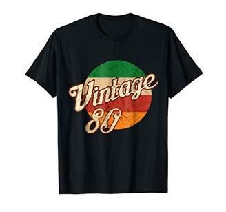 Vintage T-shirt Born in 1980 Retro 38th Birthday Gift