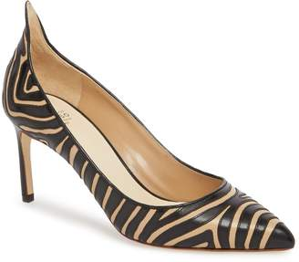 Francesco Russo Flame Pointy Toe Pump