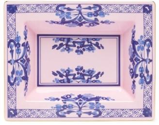 Richard Ginori Oriente Italiano Porcelain Coin Tray - Pink Multi