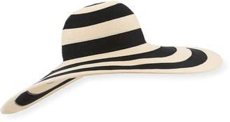 Eugenia Kim Sunny Striped Hat
