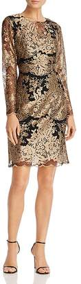 nanette Nanette Lepore Embroidered Mesh Dress