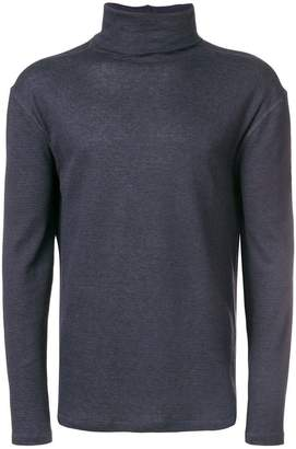 Majestic Filatures roll-neck fitted sweater