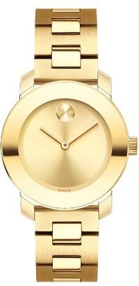 Women's Movado Bold Bracelet Watch, 30Mm $595 thestylecure.com