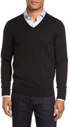 Nordstrom V-Neck Merino Wool Sweater