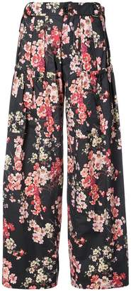 Jill Stuart Jamie floral trousers