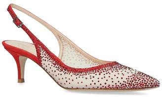 Gianvito Rossi Jewelled Regina Mules