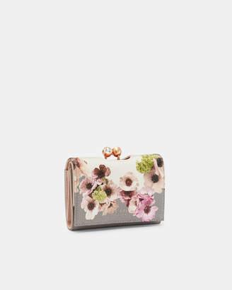 Ted Baker ABBS Neopolitan leather mini bobble purse