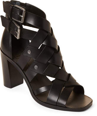 ec61db41d6f Dolce Vita Black Leather Upper Women s Sandals - ShopStyle
