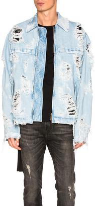 Unravel Denim Workman Jacket $1,774 thestylecure.com