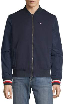 Tommy Hilfiger Reversible Cotton Bomber Jacket