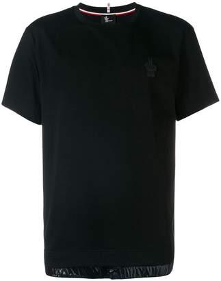 Moncler elasticated hem T-shirt