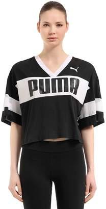 Puma Select Urban Sports Jersey Cropped T-Shirt