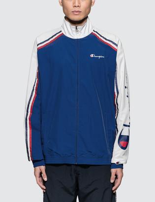 Champion Reverse Weave Sleeve Logo Jacket