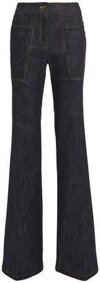 Derek Lam Charlotte Dark Denim Flare Jeans