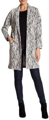 Bobeau Open Front Long Cardigan $108 thestylecure.com