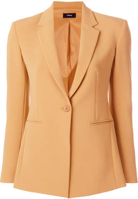 Theory buttoned blazer