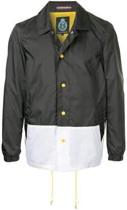 GUILD PRIME colour block coach jacket