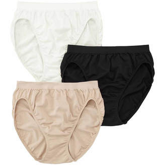 Jockey Comfies 3 Pair Microfiber French Cut Panty 3326