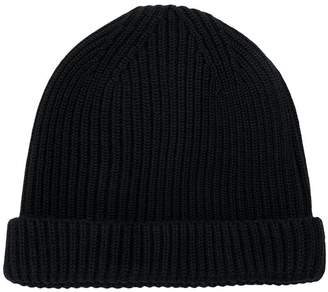 Lemaire ribbed-knit beanie