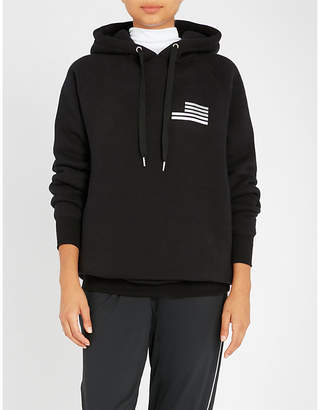 Good American Goodies Icon cotton-jersey hoody