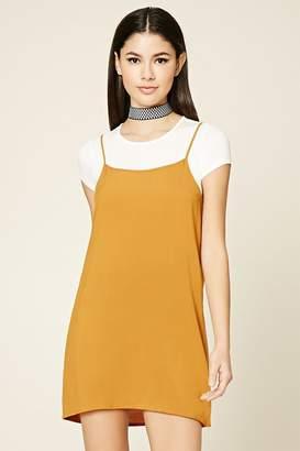 Forever 21 Combo Woven Dress