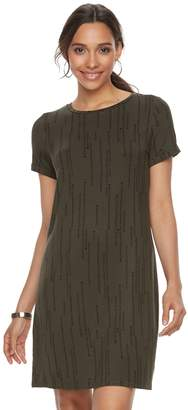 Apt. 9 Women's Cuffed T-Shirt Dress