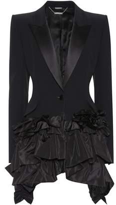 Alexander McQueen Asymmetric ruffled blazer