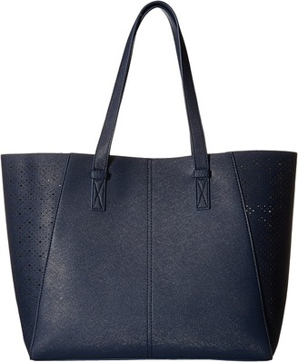 Gabriella Rocha Langley Perforated Reversible Tote with Attached Coin Purse $94 thestylecure.com