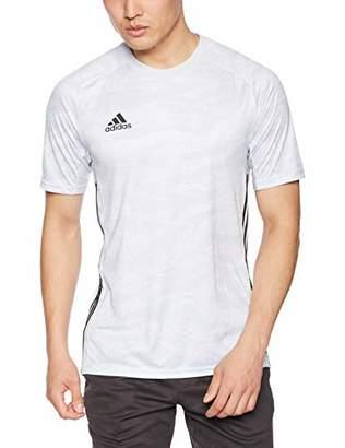 adidas (アディダス) - [アディダス] サッカーウェア ADIPRO 19 GKジャージー 半袖 FRX75 [メンズ] クリアグレー (DP3134) 日本 J/150 (日本サイズ150 相当)