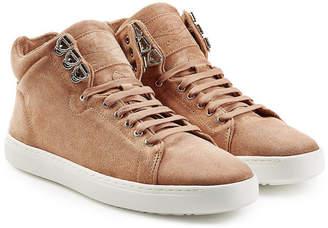 Rag & Bone Kent High-Top Suede Sneakers
