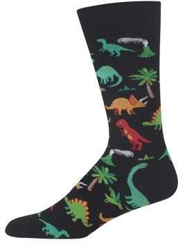 Hot Sox Dinosaur Printed Socks