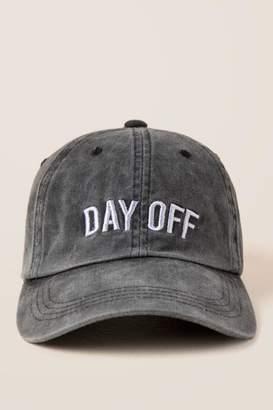 francesca's Day Off Baseball Cap - Black