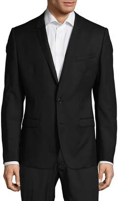 Dolce & Gabbana Men's Modern Fit Solid Wool Sportcoat