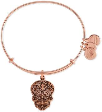 Alex and Ani (アレックス アンド アニ) - Alex and Ani 'Calavera' Adjustable Wire Bangle