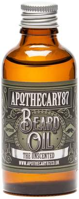 Apothecary 87 - Apothecary 87 The Unscented Beard Oil 50ml
