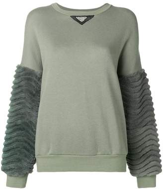 Mr & Mrs Italy laser sculpted sweatshirt