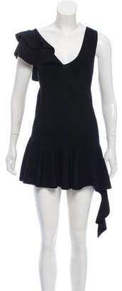 Jonathan Simkhai Ruffled Mini Dress w/ Tags