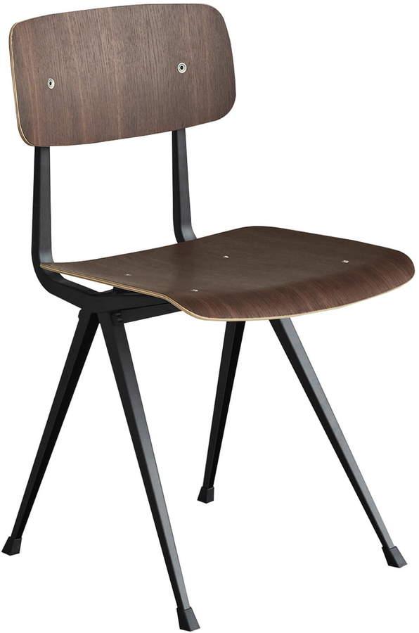 Hay - Result Chair, schwarz / eiche geräuchert