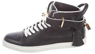 Buscemi 100MM Round-Toe Sneakers