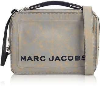 85739c4aee47 at Forzieri Marc Jacobs The Box Top Handle Leather Squared Satchel Bag