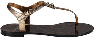 Dolce & Gabbana Dauphine Flat Sandals