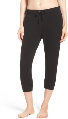 Women's Chaser Crop Lounge Pants $80 thestylecure.com
