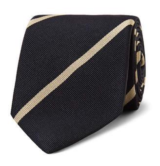 Drakes Drake's 7cm Striped Silk-Twill Tie